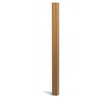 Oak Engineered Planed Blank Newel Post  - 1500mm