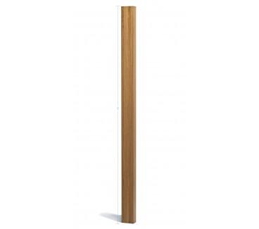 Oak Planed Blank Newel Post Half - 1500mm