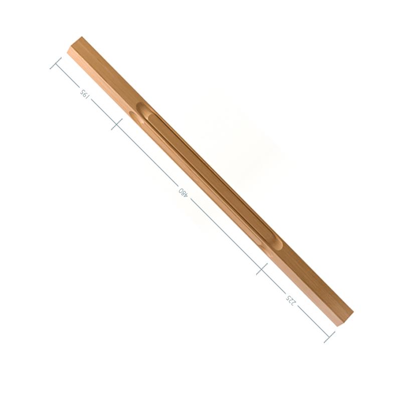 Oak Contour Baluster No. 1. - Loop - 900mm