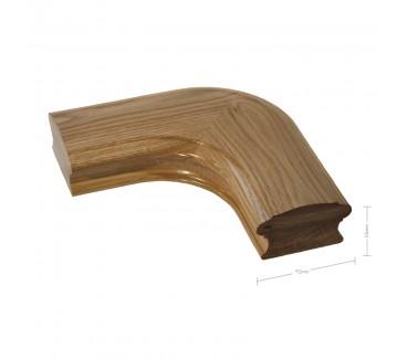 Oak Craftsmans Choice Horizontal Corner