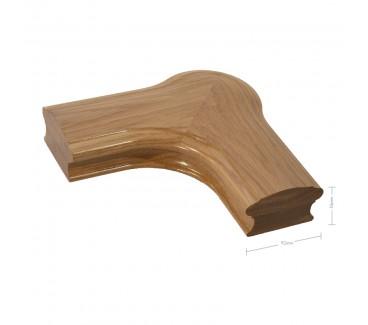 Oak Craftsmans Choice Newel Corner