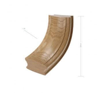 Oak Craftsmans Choice 90 Degree Up Ramp