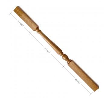 Oak Craftsmans Choice Trentham Turned Spindle - 1100mm