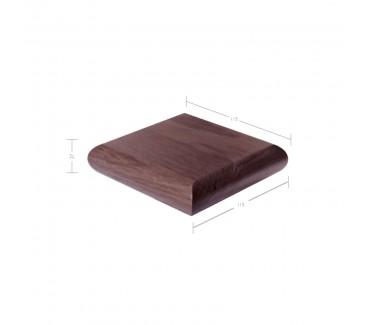 American Black Walnut Patrice Newel Post Cap to suit 90mm x 90mm Newel Post
