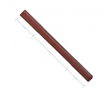 American Black Walnut Stop Chamfer Spindle - 56mm x 900mm