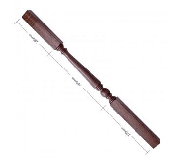 American Black Walnut Craftsmans Choice Trentham Turned Spindle - 1100mm