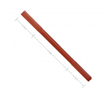 Sapele Stop Chamfer Spindle - 900mm