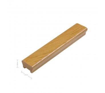 Oak Ikon Handrail - 10mm groove including infill - 1800mm