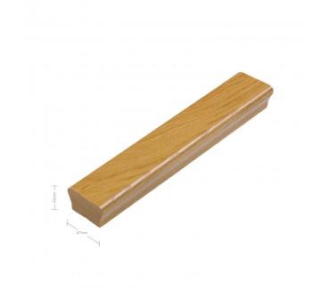 Oak Ikon Handrail - No groove - 1800mm