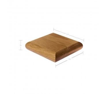 Oak Patrice Newel Post Cap to suit 90mm x 90mm Newel Post