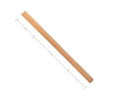 Oak Stop Chamfer Spindle - 900mm