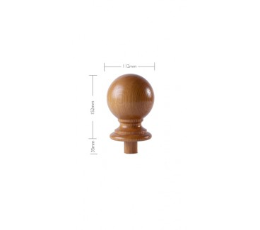 Oak Craftsmans Choice Trentham Newel Post Cap - 150mm