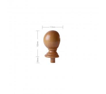 Oak Craftsmans Choice Trentham Newel Post Cap Half -