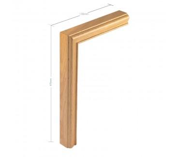 Oak Vertical Mitre